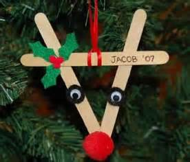 craft ideas to make reindeer ornaments from decoration crafts