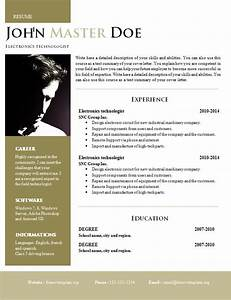 creative design resume doc format 820 825 free cv With creative resume design templates