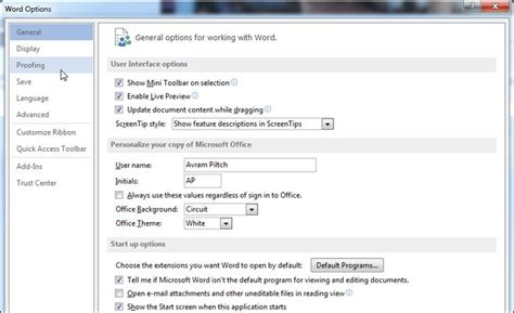 how to disable smart quotes in word 2013 or word 2010
