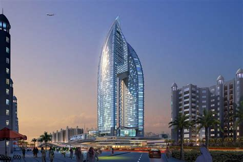 hotel trump tower international dubai palm nakheel jumeirah architect buildings info