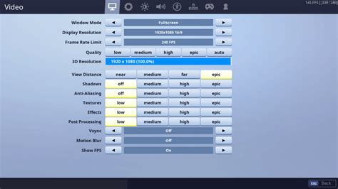 jarvis fortnite settings controller binds setup