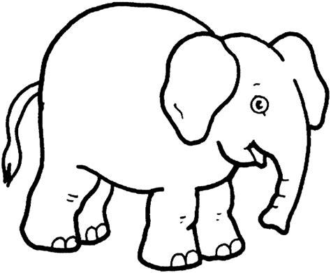 Print Download Teaching Kids Through Elephant Coloring