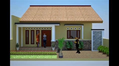 desain rumah sederhana  juta desain rumah minimalis