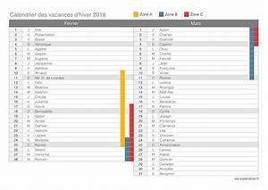 Vacances Aout 2018 : vacances d 39 hiver 2018 calendrier et dates icalendrier ~ Medecine-chirurgie-esthetiques.com Avis de Voitures