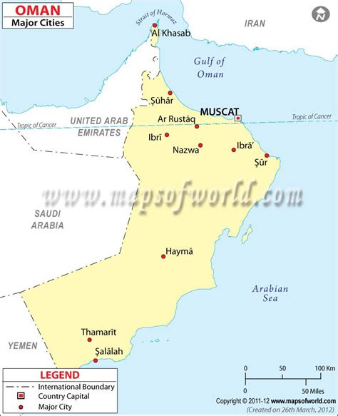 map  oman cities google search maps   map