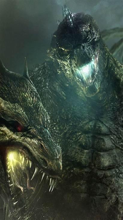 Godzilla King Monsters Wallpapers Desktop Ghidorah Film