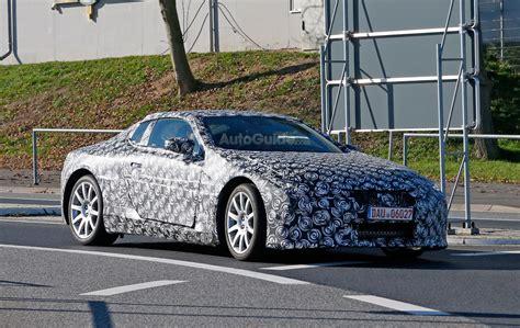 Lexus Lflc Spied Testing Near The Nurburgring