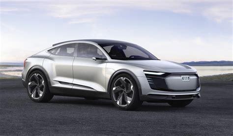 e auto audi audi e sportback second electric car from automaker