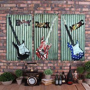 best guitar room decor products on wanelo With what kind of paint to use on kitchen cabinets for metal music notes wall art