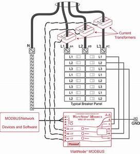 Wattnode Modbus Installation  U2013 Continental Control Systems