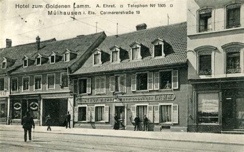chambre des commerces mulhouse photos mulhouse 1914