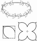 Lei Flower Coloring Template Templates Pages Printable Craft Pattern Activities Texas Games State Party Reading sketch template