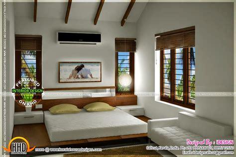 kitchen master bedroom living interiors home kerala plans
