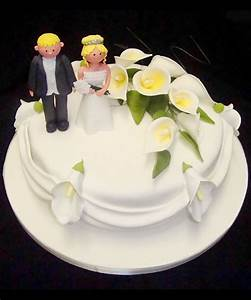 Single Layer Wedding Cake Pictures 2 Wedding Cake - Cake ...