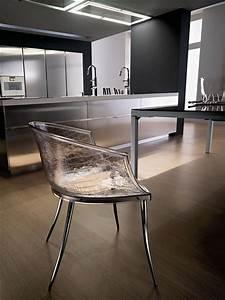 Chaise En Verre : dandy chaise design en verre chez fiam ~ Teatrodelosmanantiales.com Idées de Décoration