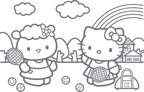 Hello Kitty Printables Coloring Pages Eskayalitim