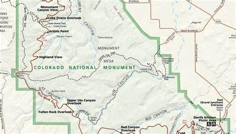 Colorado National Monument Map