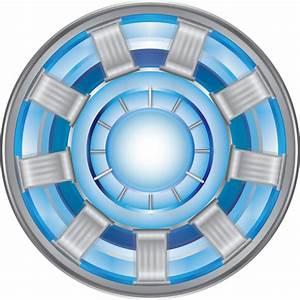 Arc Reactor - Iron Man Vector Image by mine22mine on ...