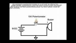 How To Connect A Potentiometer In A Circuit