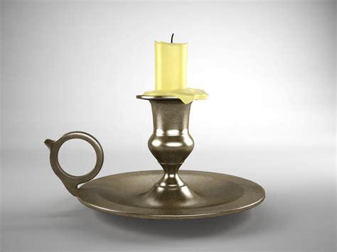 Candlestick Holders by Brass Candlestick 3d Model 3d Models World
