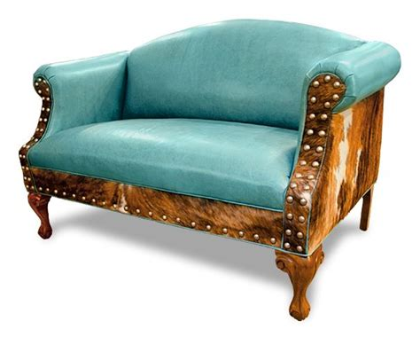 turquoise settee sweet ali settee caribbean blue turquoise leather on the