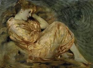 Solomon J Solomon, Reclining Woman: NEN Gallery
