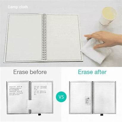 Notebook Microwavable Elfinbook Erasable Supplies