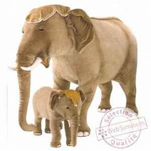 Peluche Geante Elephant : peluche debout l phant d 39 inde 200 cm piutre de peluche animali re piutre ~ Teatrodelosmanantiales.com Idées de Décoration