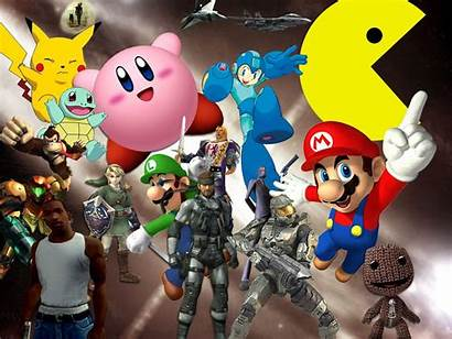 Character Classic Compilation Characters Gaming Wallpapers Favourite