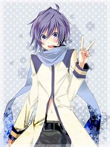 #kaito vocaloid. I really like the style of this picture ...