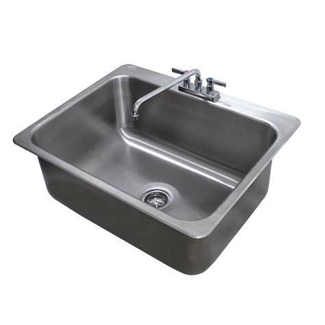 advance tabco drop in sink advance tabco di 1 2812 1 compartment drop in sink 28