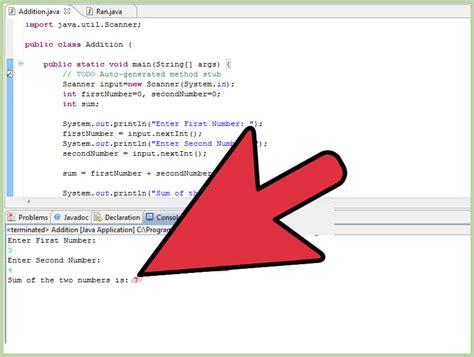 find  sum   numbers  java  steps