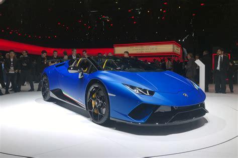 Lamborghini Huracan Performante Spyder Unveiled At 2018