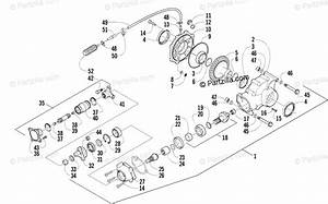 Arctic Cat Atv 2003 Oem Parts Diagram For Rear Drive
