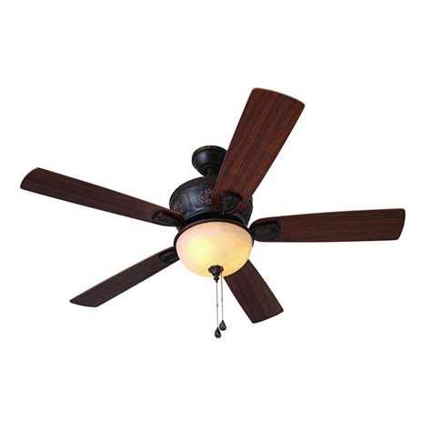 Harbor Ceiling Fans Troubleshooting Light by Shop Harbor 52 In Multi Position Indoor Ceiling Fan