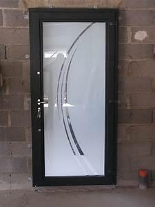 Porte D Entrée Vitrée Aluminium : nimes 30000 pose de portes d 39 entr e aluminium vitr e ~ Melissatoandfro.com Idées de Décoration