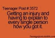 12 best Injury memes images on Pinterest | Broken leg ...