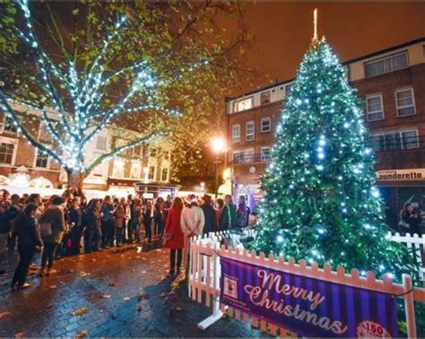 christmas lights up events festivals markets in north