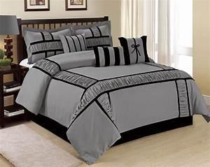 @homechoice 7 Piece MARMA Ruffle & Patchwork Comforter ...