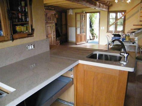 cuisines pierre de taille plan de travail  sol pierre