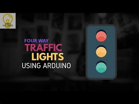 an interactive traffic lights using arduino arduino projects 4 way traffic lights using arduino 44534