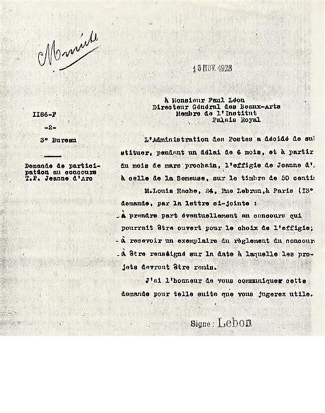 le concours organise en 1928 pour le timbre jeanne orleans