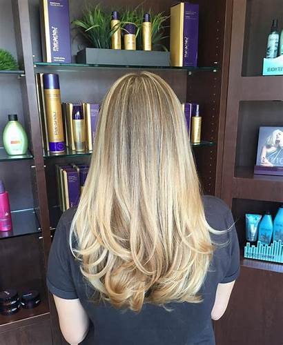 Straight Layers Blonde Hairstyle Hairstyles Layered Short