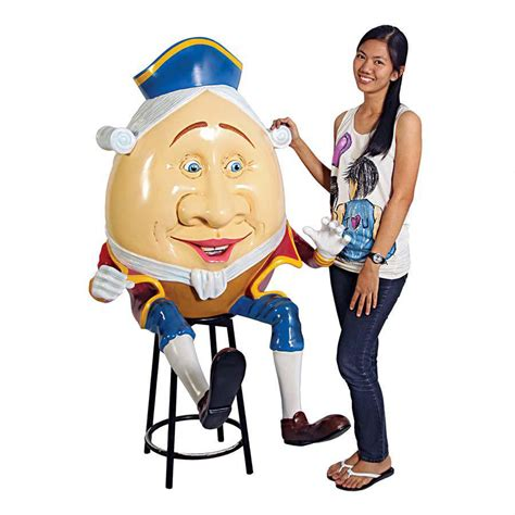 Lifesize Humpty Dumpty Statue - The Green Head