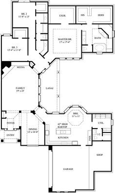 shaped house plans images