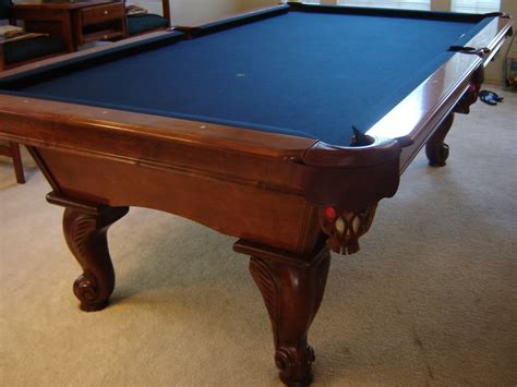 How Much Is A Kasson 8 Foot Pool Table Worth