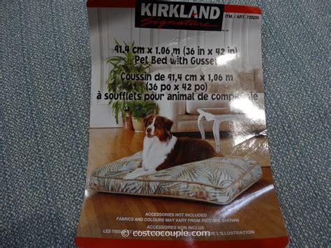 Kirkland Signature Bed by Kirkland Signature Rectangular Pet Bed