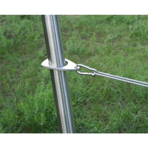 syst 232 me de fixation pour voiles d ombrage triangulaires achat vente parasol ombrage