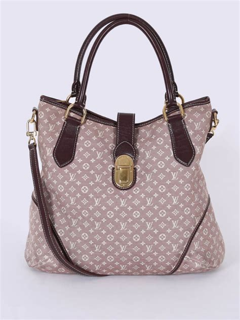 louis vuitton elegie monogram idylle canvas sepia