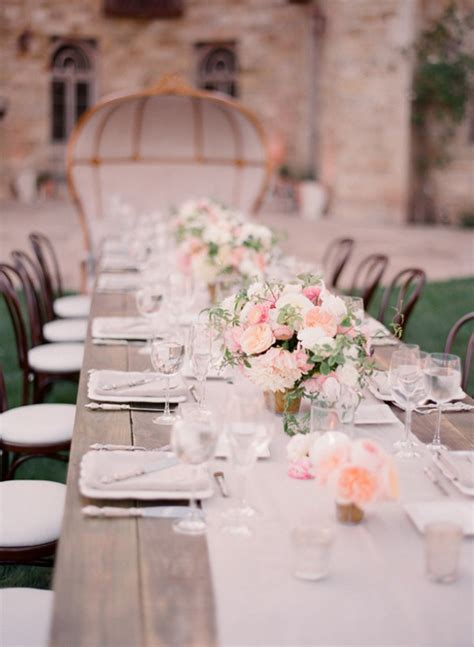 wedding decorations with long tables wedding trends strictly long tables belle the magazine